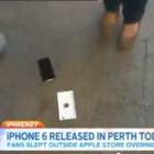first iphone 6 dropped